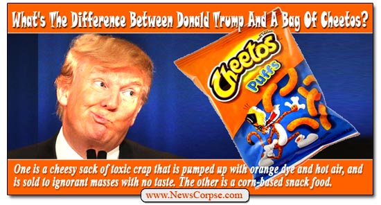 Image result for trump cheeto