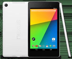 Das Nexus 7 von LG