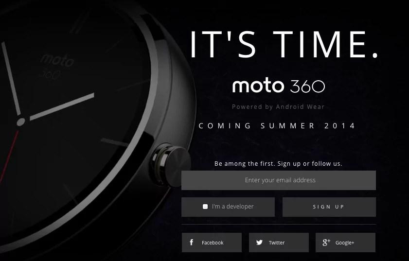 "Motorola: Smartwatch namens ""Moto 360"" wurde angekündigt"