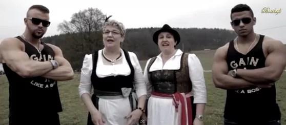 Musik: Kollegah und Majoe feat. Die Götzfried Girls – Von Salat schrumpft der Bizeps