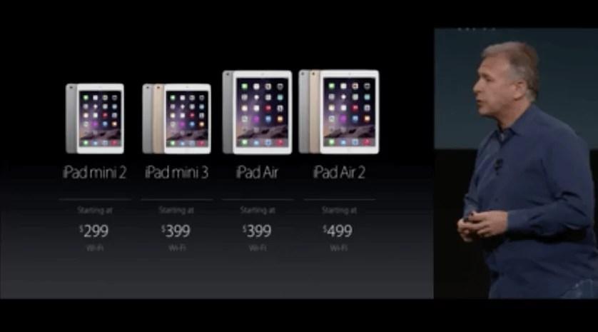 iPad mini 3: Mit Touch ID, startet ab 399 Euro