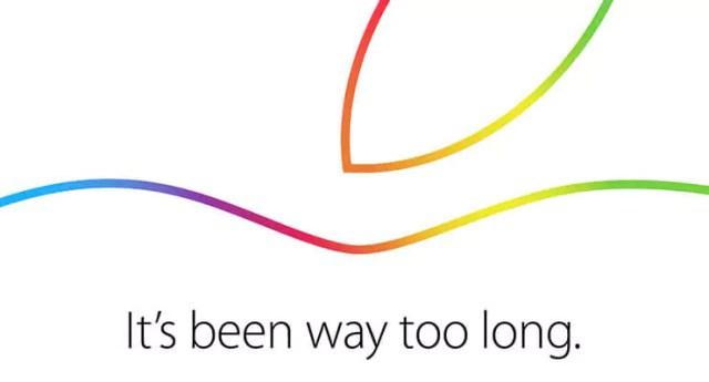 Apple Event zum iPad