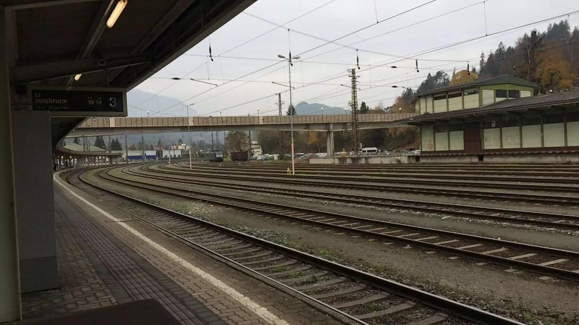 Mit dem Zug nach Innsbruck #Mutprobe