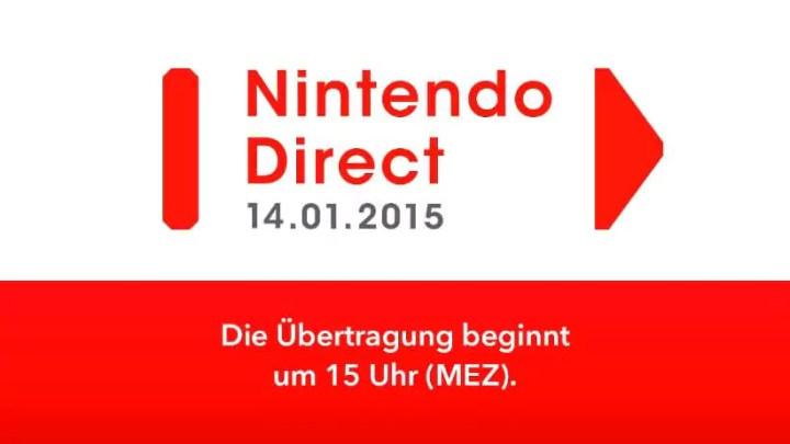 Nintendo Direkt um 15 Uhr