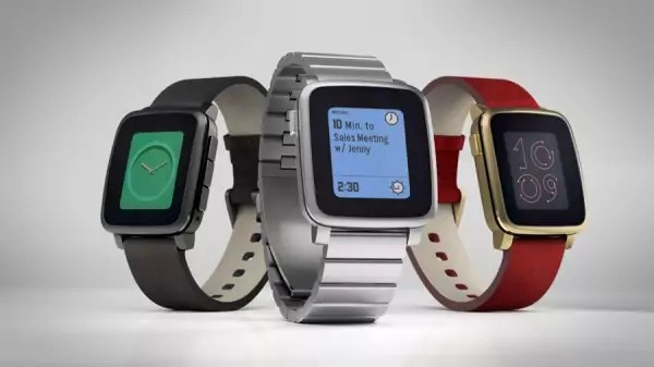 Die Pebble Time Steel