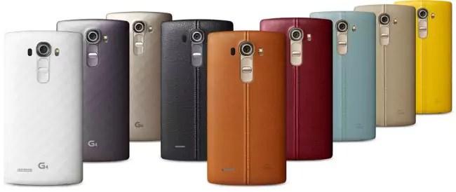 LG G4: Neue Bilder zeigen das Flaggschiff-Smartphone aus Leder