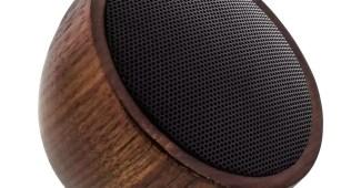 InLine Woodwoom - Mini-Bluetoothlautsprecher aus Walnussholz  2