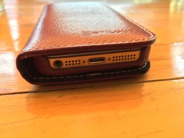 Stilgut Talis - Schutzhülle für das iPhone aus Echtleder