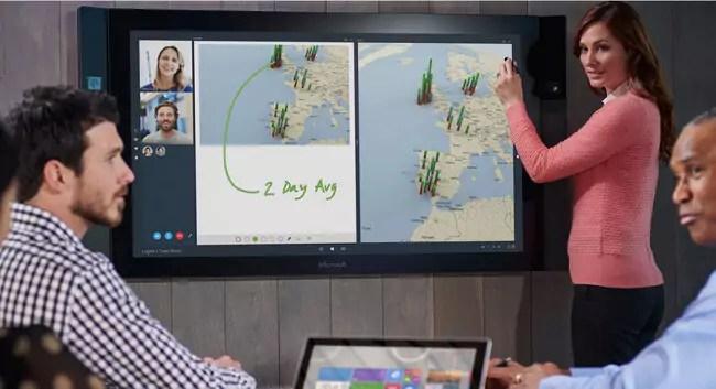 Microsoft Surface Hub: Ab dem 1. Juli für einen unglaublichen Preis vorbestellbar