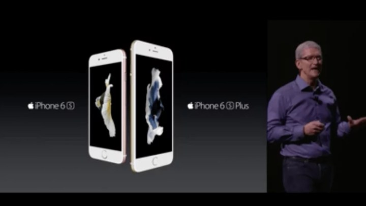Apple Event: Das neue Apple iPhone 6s und das neue iPhone 6s Plus