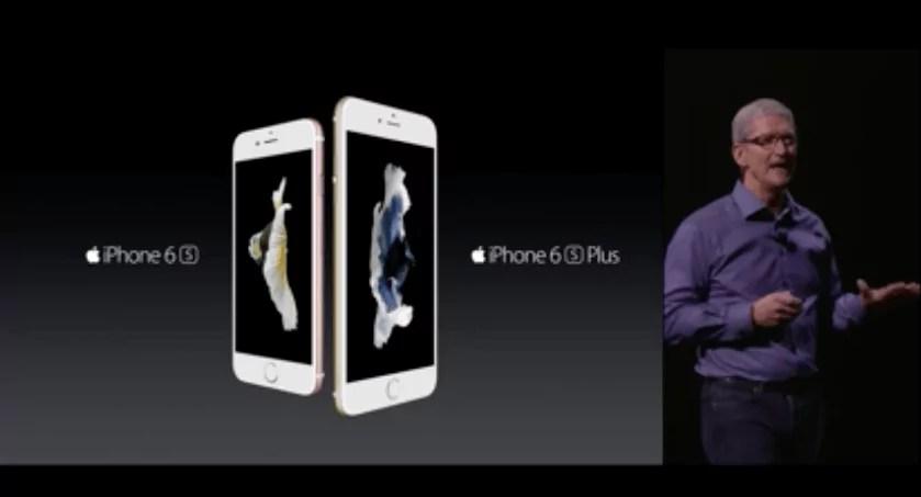 Apple Event: Das neue Apple iPhone 6s und das neue iPhone 6s Plus