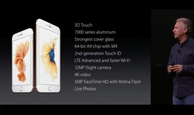 iPhone 6s, iPhone 6s Plus