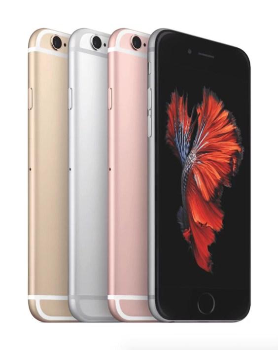 Das iPhone 6s in allen Farben