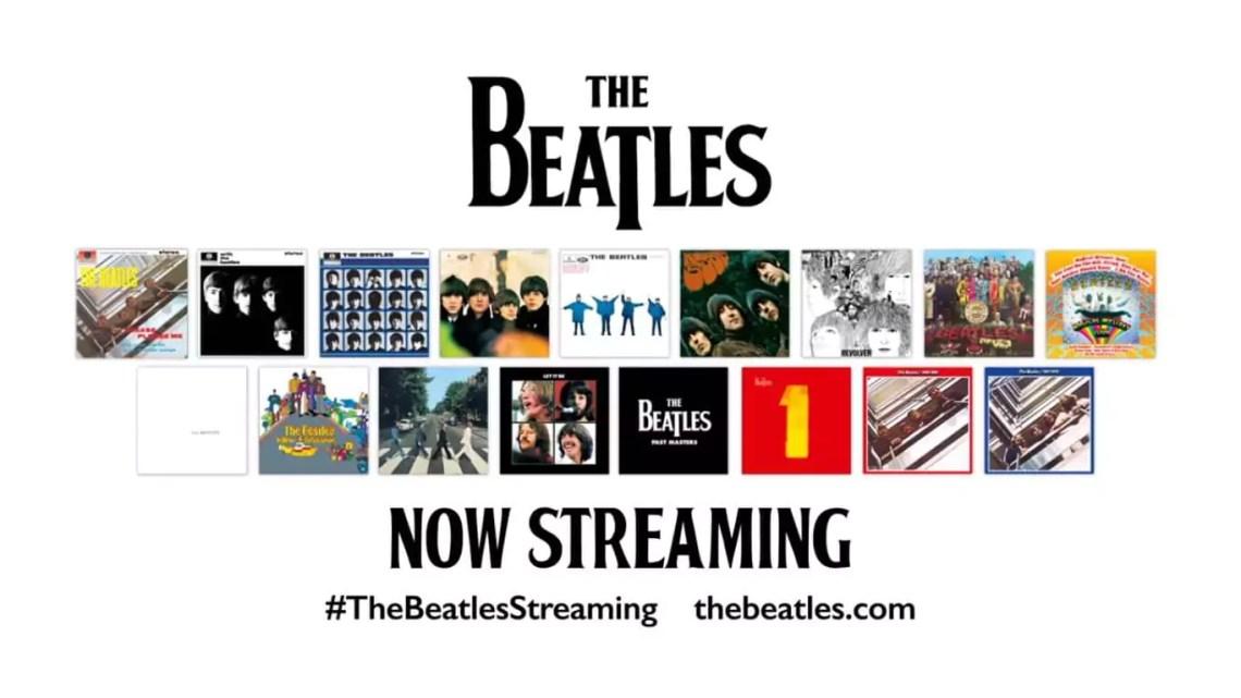 The Beatles ab dem 24. Dezember auf Apple Music, Tidal, Spotify und Co