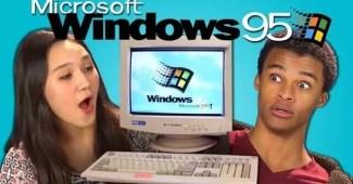 Teens react Windows 95