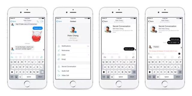 Facebook Messenger - Ende-zu-Ende-Verschlüsselung