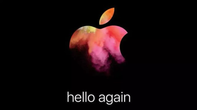 Apple Event - hello again