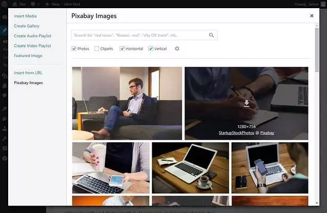 Pixabay Images 3.0 - WordPress Plugin / Bilder Datenbank