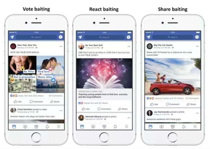 """Facebook geht gegen """"Engagement-Bait"""" vor 1"""