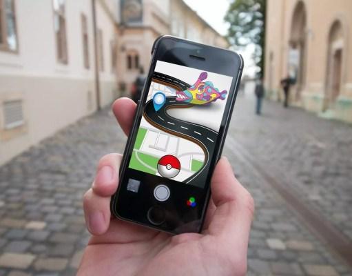 Augmented Reality am bekannten Beispiel Pokémon GO (Bildquelle: stux/Pixabay - Redaktionelle Nutzung)