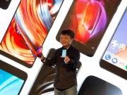 Xiaomi auf einem Launch-Event in Spanien