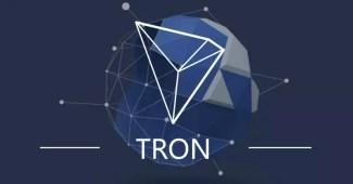 Kryptowährung TRON Logo
