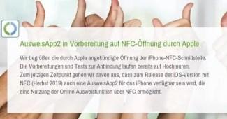 AusweisApp2: Im Herbst für das iPhone 1