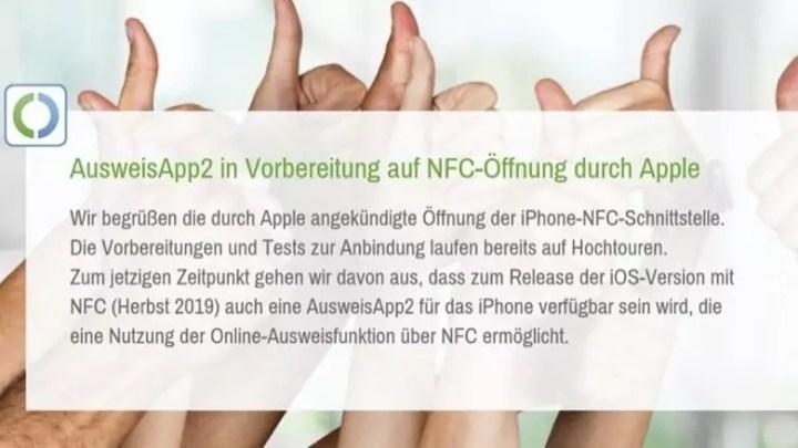 AusweisApp2: Im Herbst für das iPhone