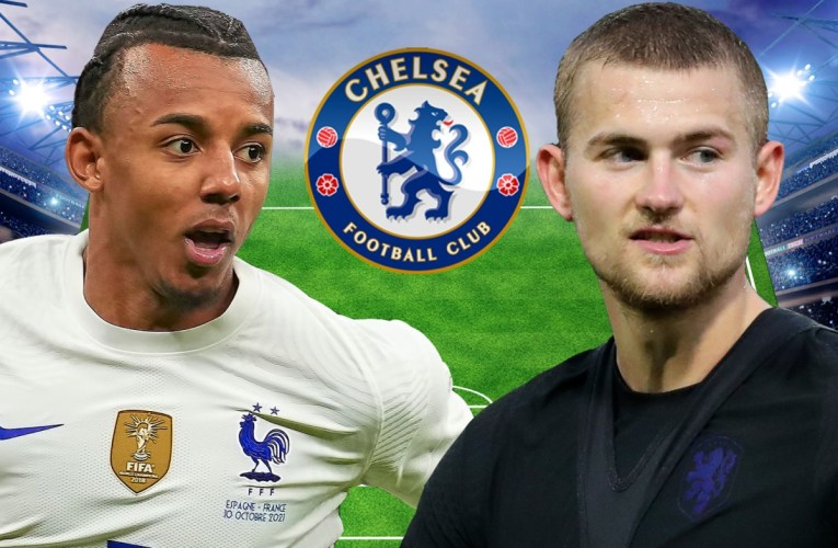 How Chelsea could line up next season including De Ligt and Kounde transfers with FOUR defenders out of contract