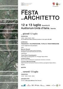 locandina festa architetto interno web