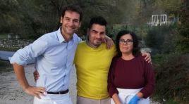 Castelnuovo al Volturno: il Molise e chef Rufo ancora protagonisti alla Prova del Cuoco. Il raviolo alla scapolese preparato per Elisa Isoardi.