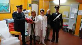 Isernia:  I Carabinieri di Isernia restituiscono il defibrillatore rubato  all'ospedale.