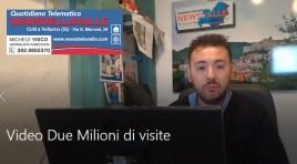 Pasqua 2019, Newsdellavalle supera i due milioni di visite e letture. I video auguri del Direttore Responsabile.