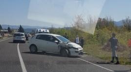 Statale 85 Venafrana: incidente nei pressi di Macchia d'Isernia. Coinvolti diversi veicoli.