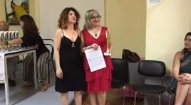 """Marilena Ferrante si aggiudica la III Edizione del Premio letterario """"Luca Romano"""", Primo posto per la sezione """"Libro edito di poesia"""""""