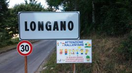 Longano: il comune installa segnaletica stradale pro-bimbi all'ingresso del paese. Limite di 30Km orari dove giocano i piccoli per strada.
