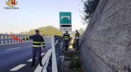 Cerro al Volturno: la Polizia Stradale salva giovane 40enne pronto a lanciarsi giù dal viadotto.