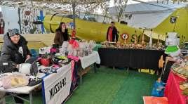 Rocchetta a Volturno: al Museo Internazionale delle Guerre Mondiali il mercatino natalizio. Guarda le foto