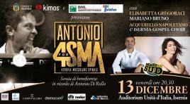 """Isernia: Antonio 4 SMA, la maratona di Telethon in città"""". L'evento in programma venerdì 13 dicembre."""