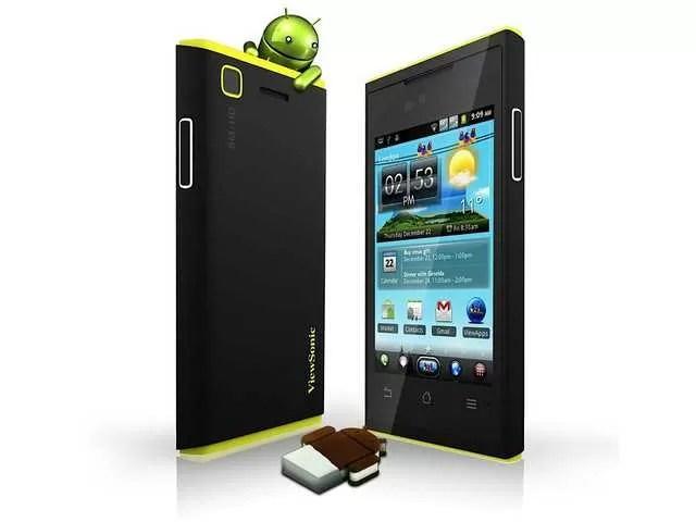ViewPhone 4s, il primo smartphone dual-SIM con Android ICS