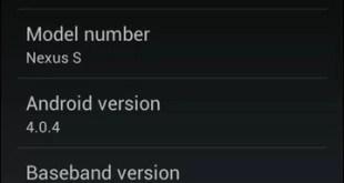 Finalmente ICS su Nexus S