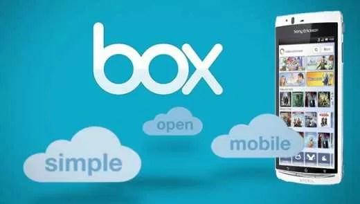 Box per Android espande il limite massimo di upload per singolo file a 250 MB