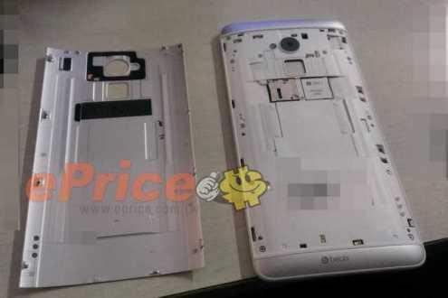 HTC One Max – Nuove immagini e probabile lettore di impronte digitali!
