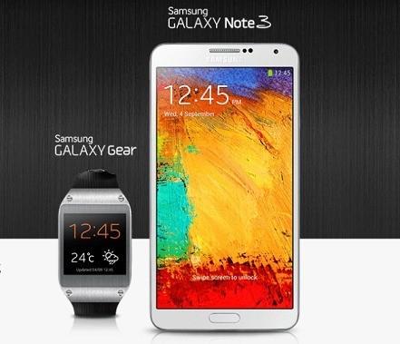 Galaxy Note 3 e Galaxy Gear finalmente in Italia!