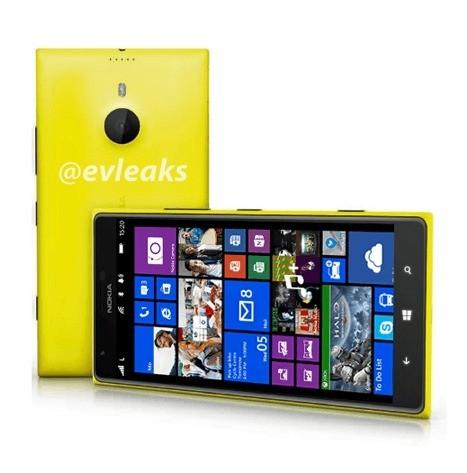 Nokia 1520: Prime immagini sul possibile phabet