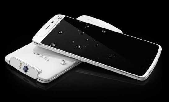 Oppo N1 è ufficiale: fotocamera rotante e pannello touch sul retro. Ottobre la data di uscita