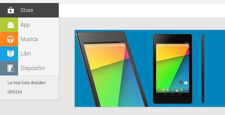 Il Play Store Device è ufficialmente arrivato in Italia!!!!!!!!!!