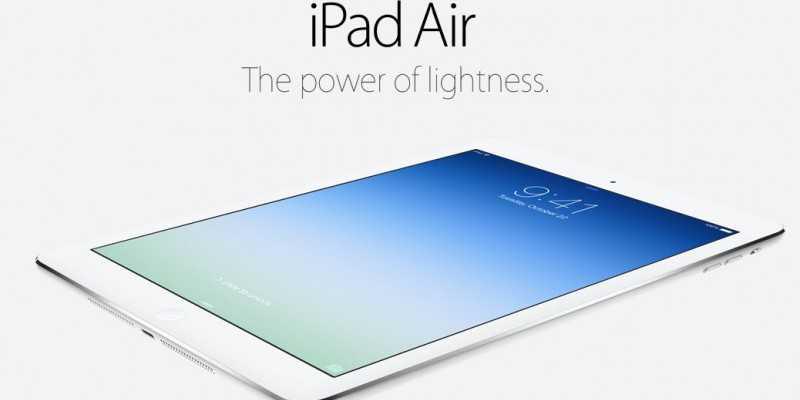 iPad Air, la nuova generazione è arrivata