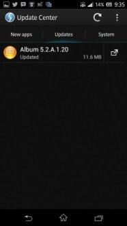 Sony aggiorna Album App alla versione 5.2.A.1.20