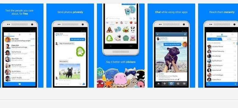 Facebook Messenger si aggiorna alla versione 3 con una nuova UI e la possibilità di invio degli SMS!